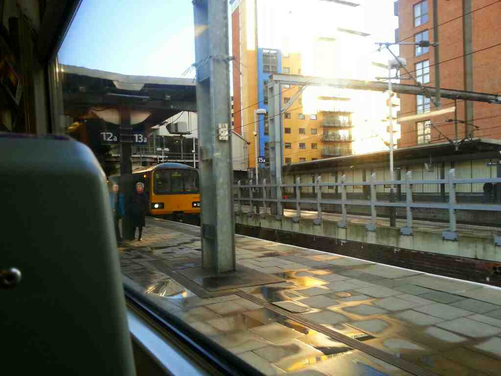 Arrived at Leeds City Station on a Northern Rail Doncaster to Leeds train