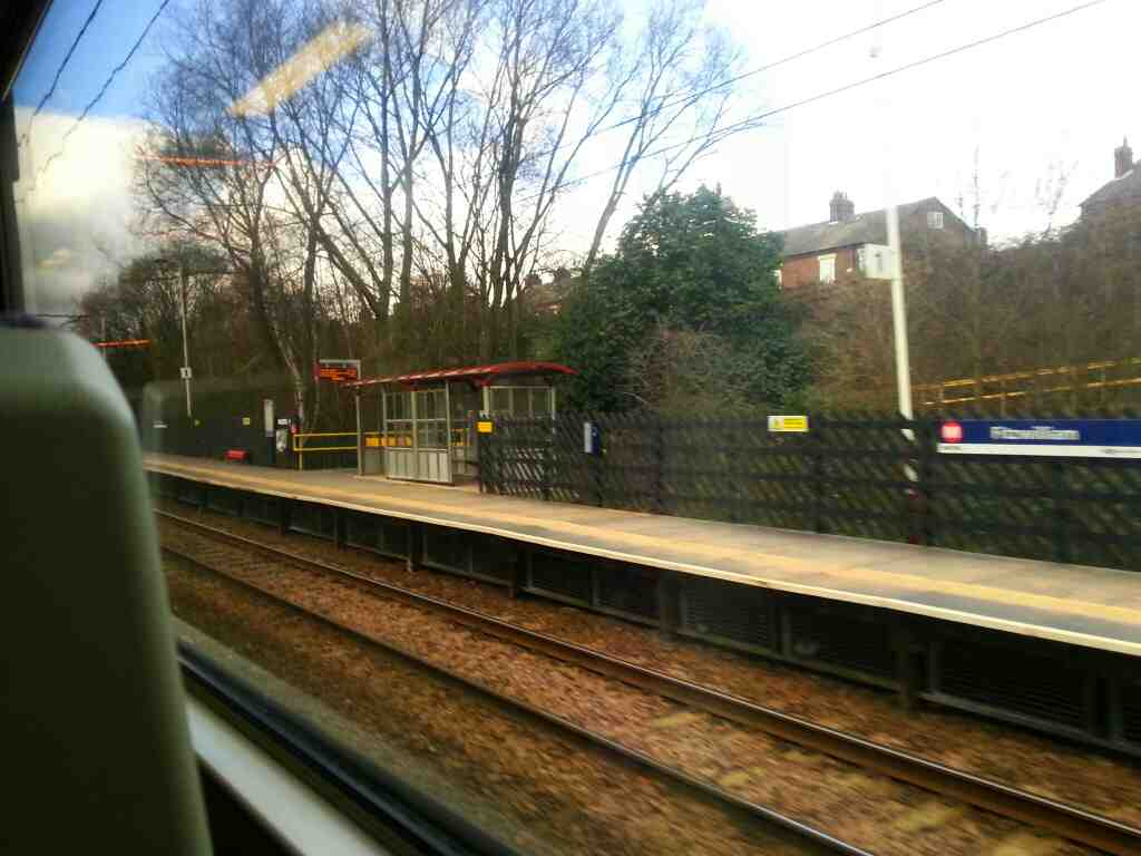 Arriving at Fitzwilliam on a Northern Rail Doncaster to Leeds Train