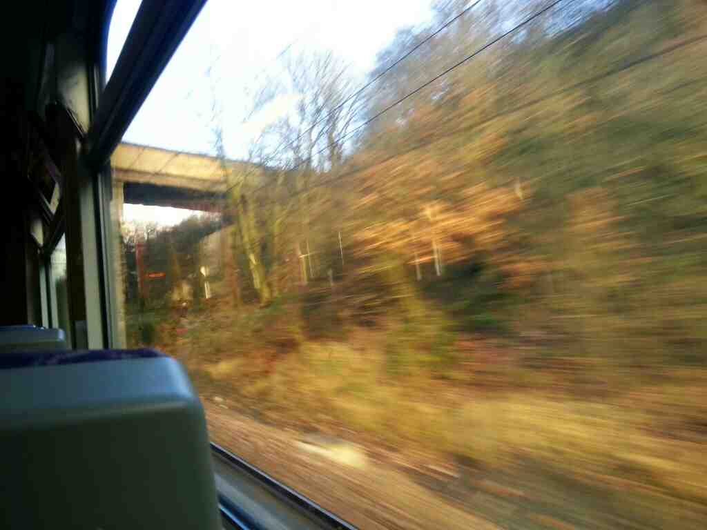 Heading towards Outwood on a Northern Rail Doncaster to Leeds train