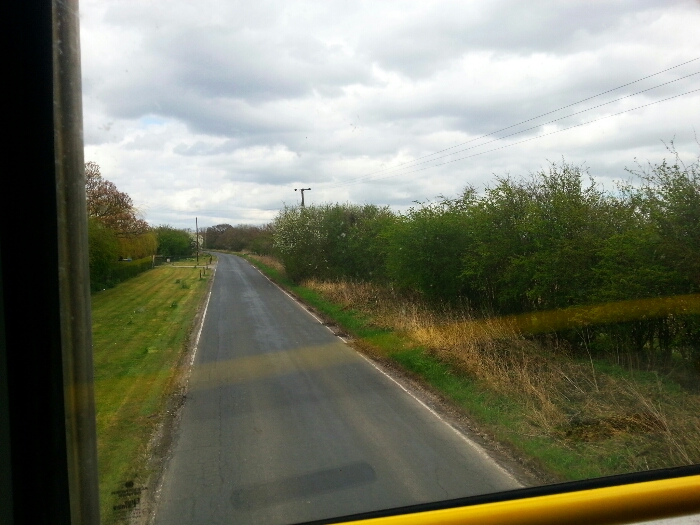 Long Lane between Howden and Eastrington