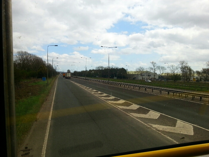 Joining the A63