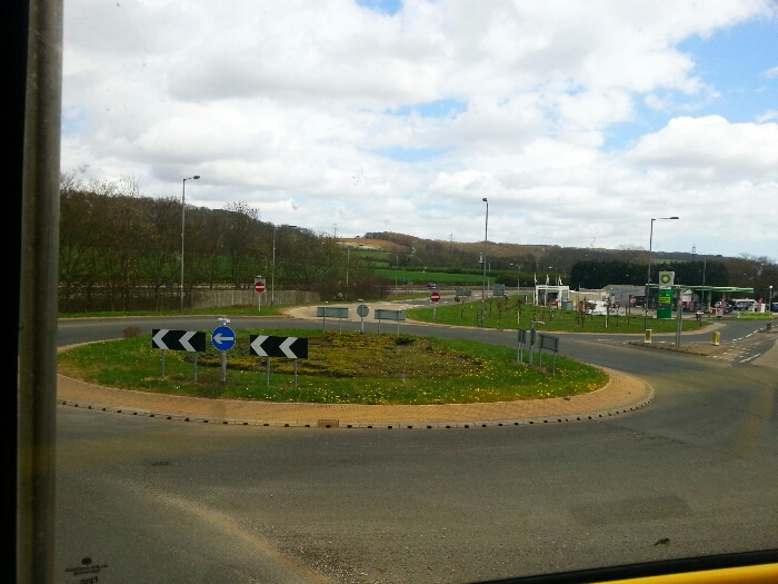 South Cave and sewells Service Station