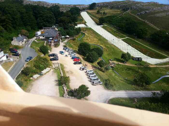 Llandudno�Ski Slope�& Snowboard Centre from a cable car