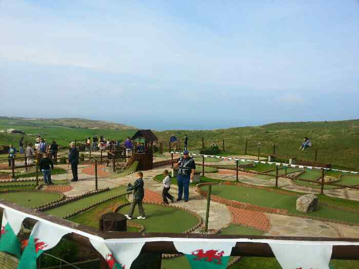 Crazy Golf Great Orme