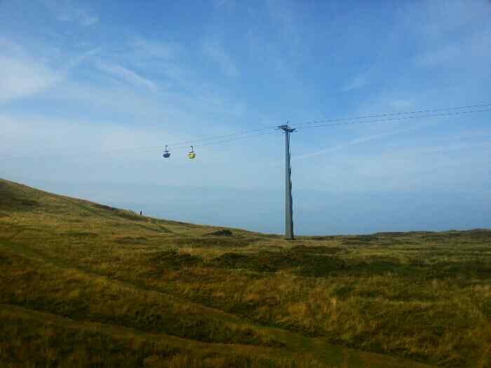 Cable cars Great Orme
