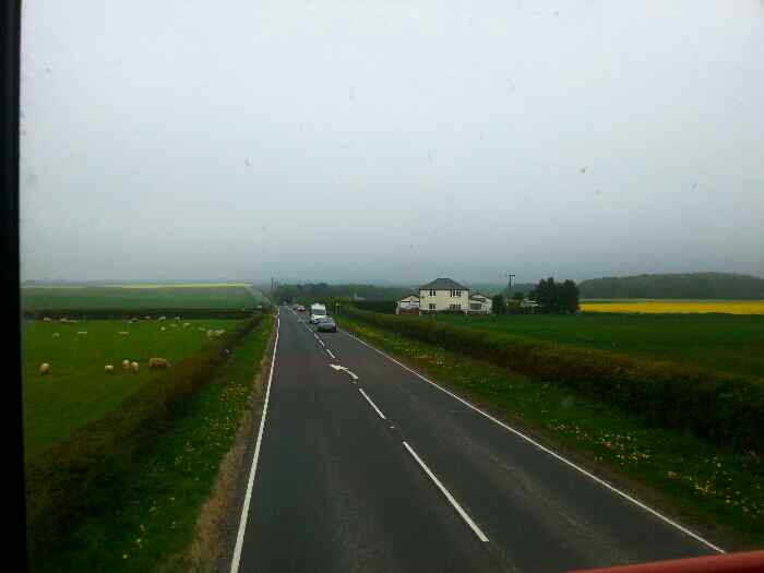 A165 between Bridlington and Reighton