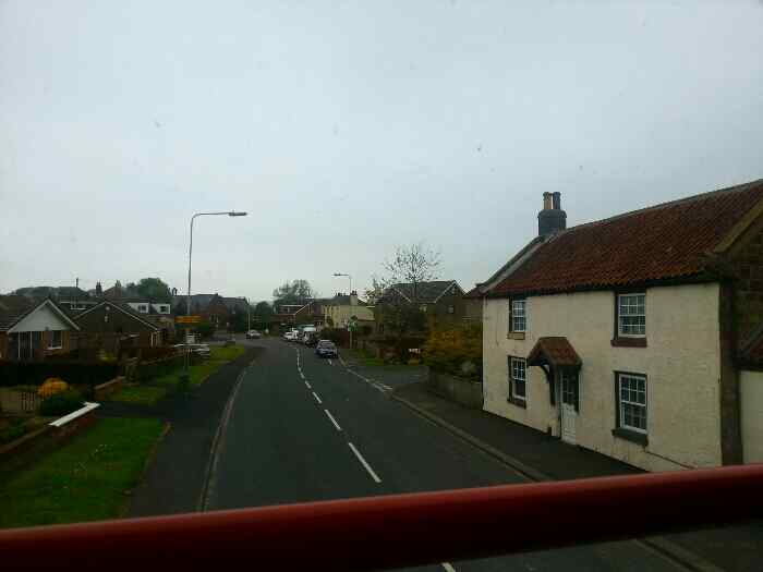 Approaching Cayton on the B1261 Main St