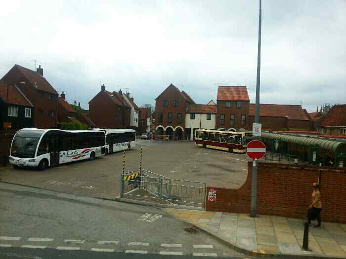 Beverley Bus station from New Walkergate