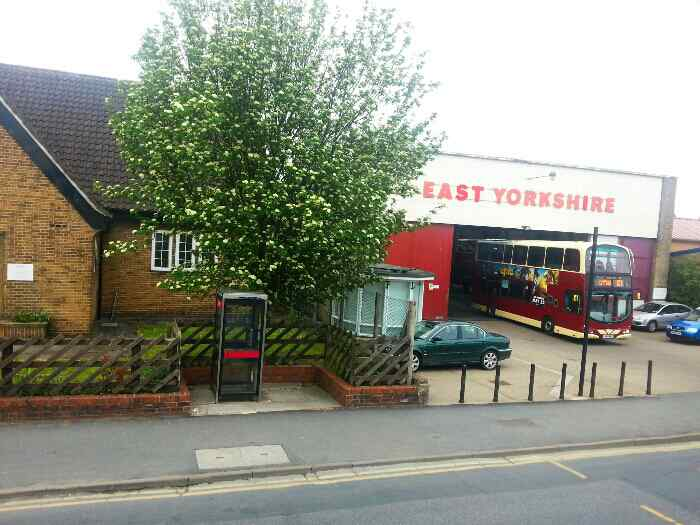 East Yorkshire Motor Sevices Garage