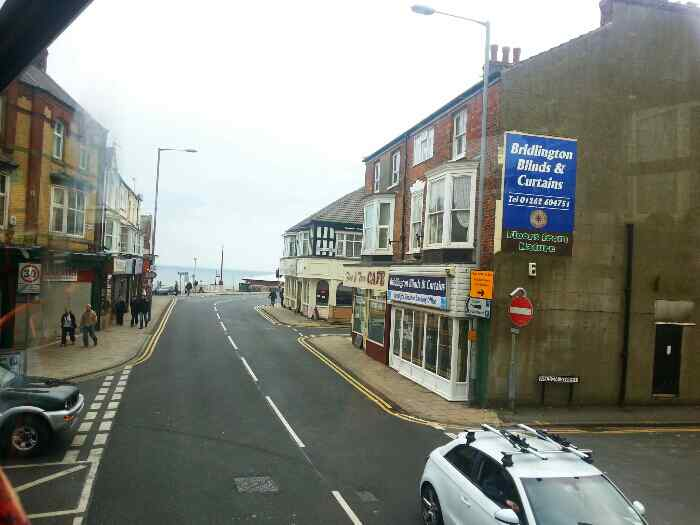 junction of S cliff Rd and Bridge St Bridlington