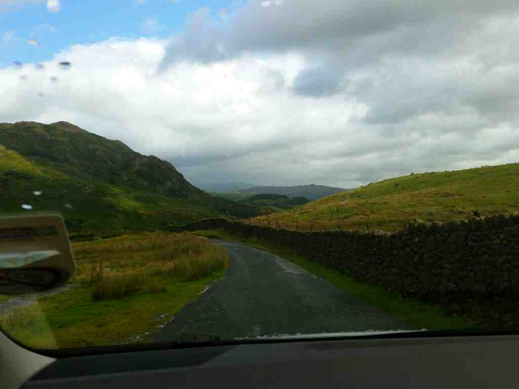 This bit of road can be compared to roads in the Derbyshire Peak District on a car ride over the Hardknott Pass and Wrynose Pass Cumbria