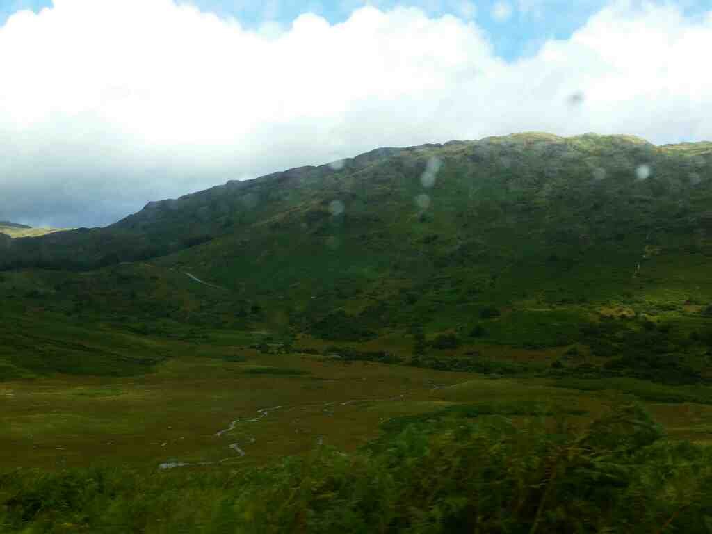 Little Langdale on a car ride over the Hardknott Pass and Wrynose Pass Cumbria
