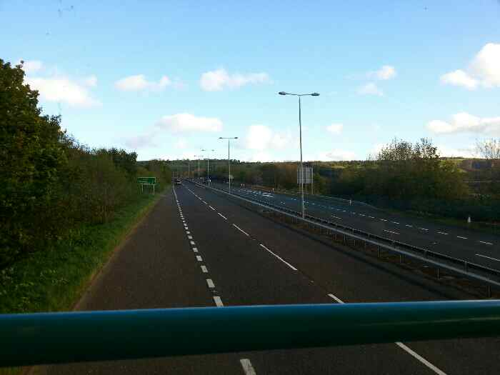 Joining the A629 at Elland