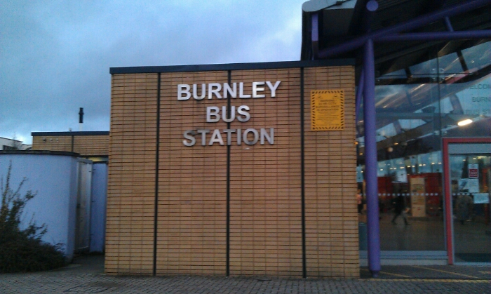 Burnley bus station