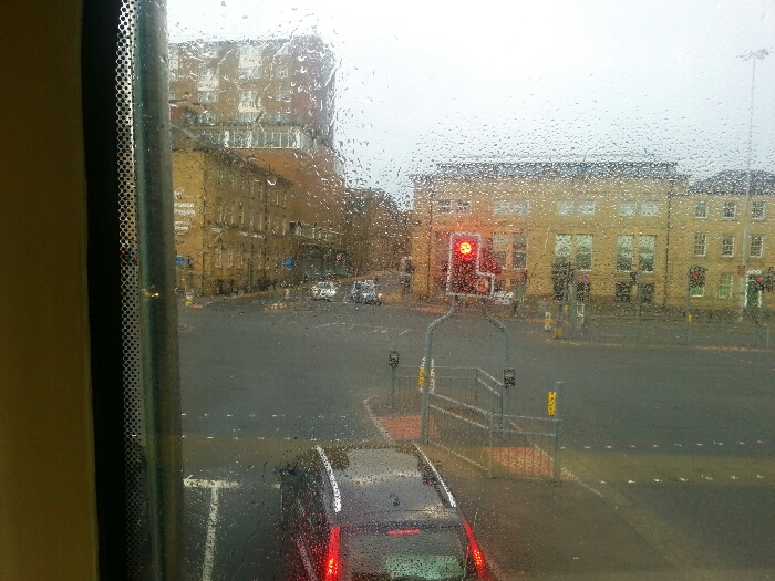 Approaching Huddersfield town centre