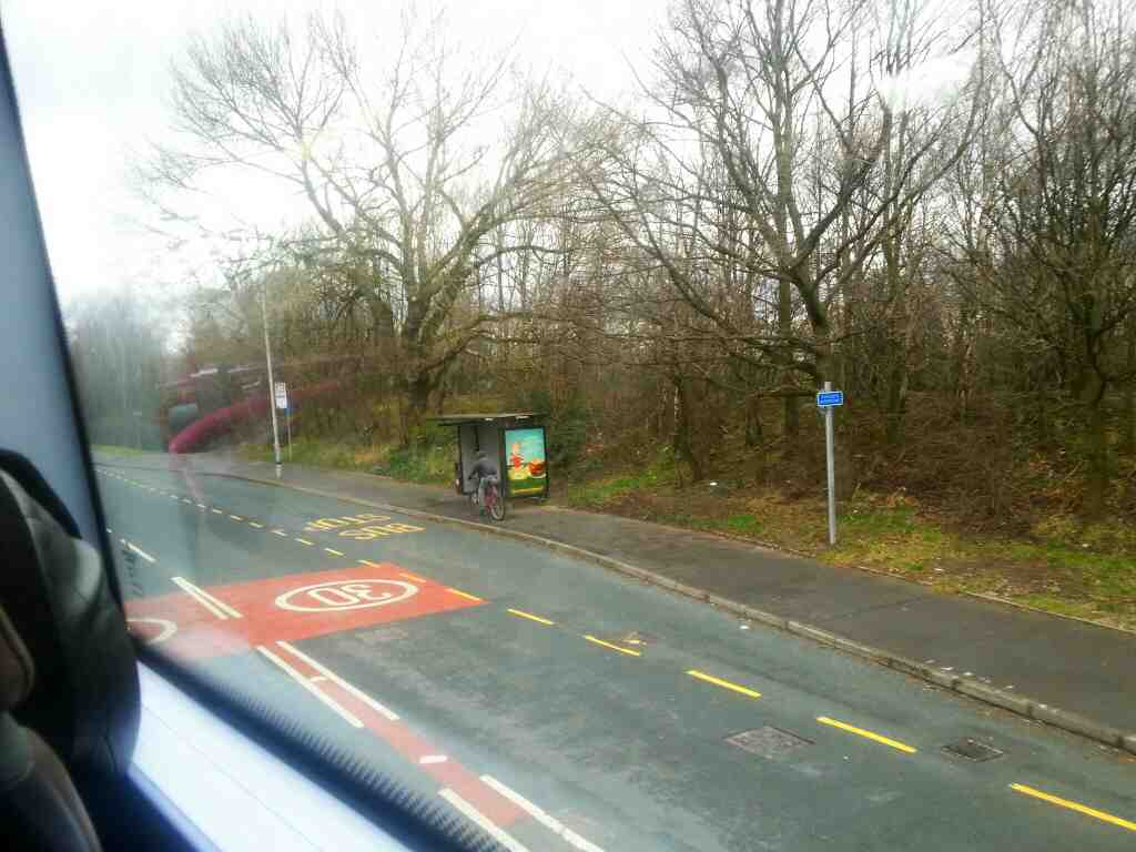 Bolton Rd Salford on a number 8 bus