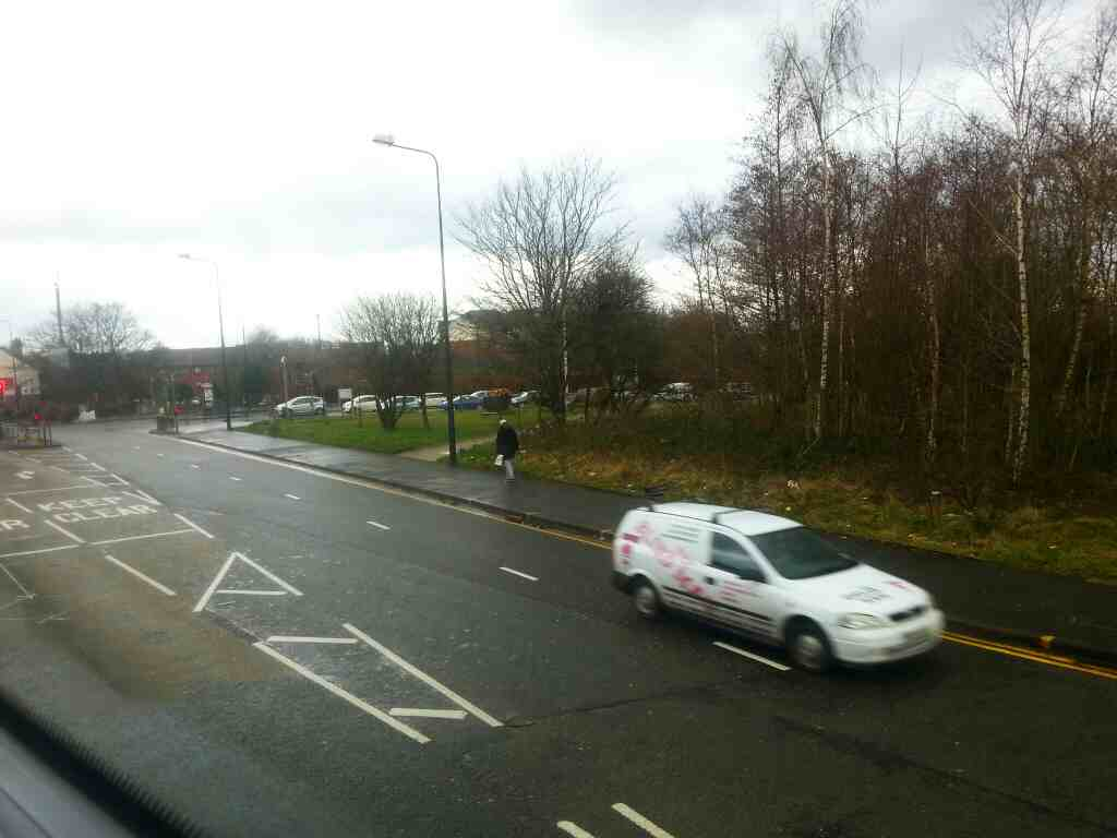 Junction of Queensway and Bolton Rd the A666 off a number 8 bus