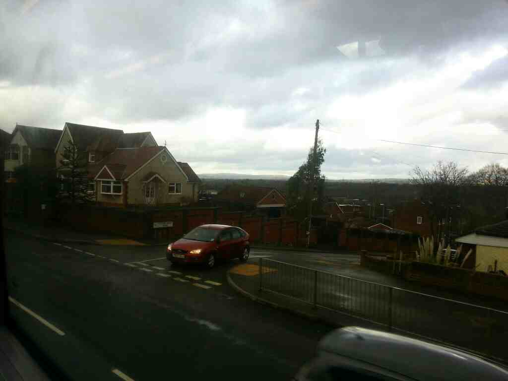 Junction of Manchester Rd the A666 and Clifton House Rd the A666 off a number 8 bus