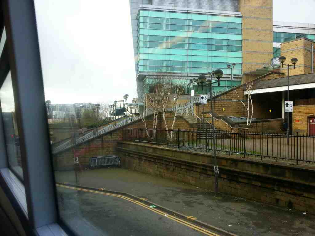 Taken off a number 8 Bolton Bound bus on Hunts Bank Manchester