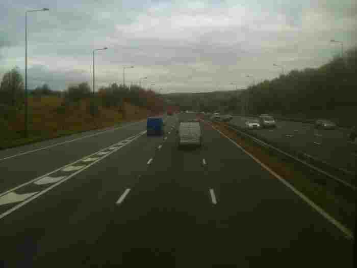 Heading North on the M66