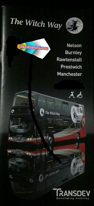 Download the Witch Way Transdev Nelson Burnley Rawtenstall Prestwich Manchester Chorlton St X43 timetable bus times