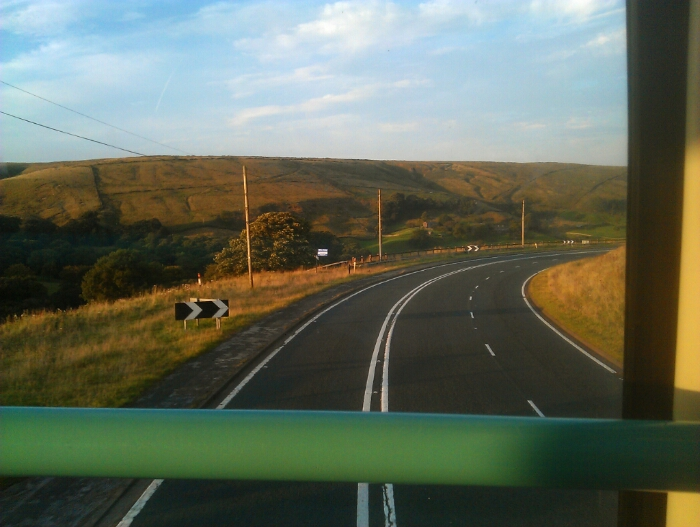 A62 near Marsden West Yorkshire.