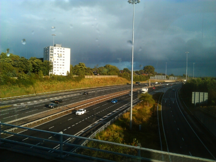 M60 Manchester ring road at Hollinswood.