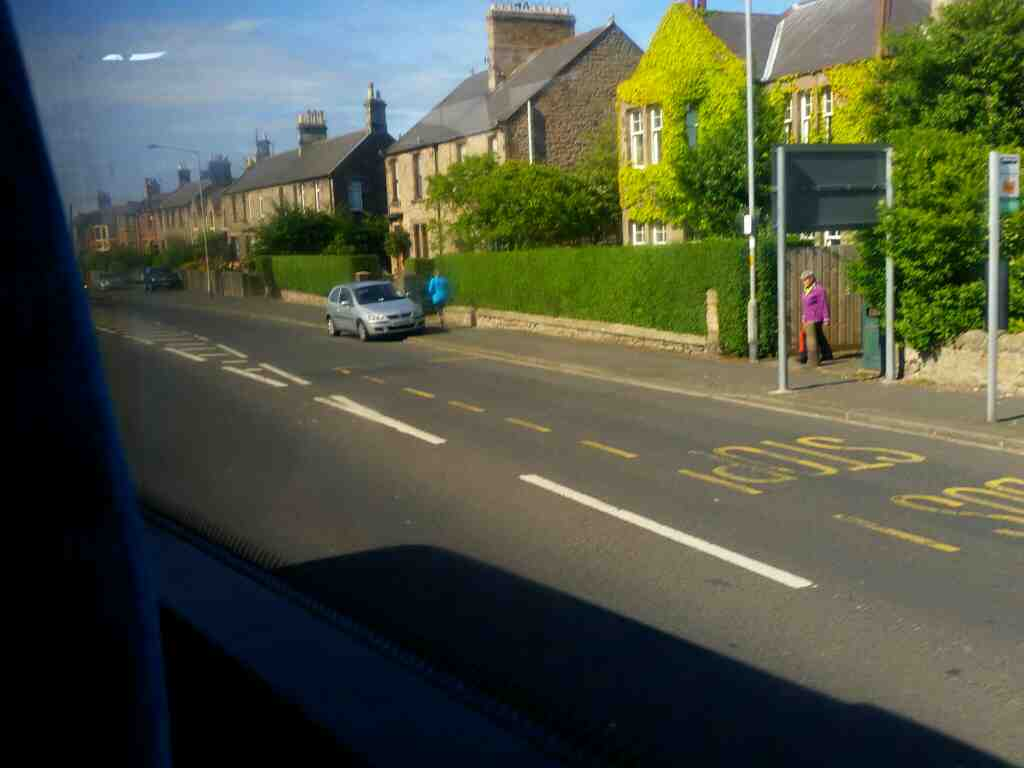 Northumberland Rd Tweedmouth Berick upon Tweed  on a X15 Newcastle to Berwick bus