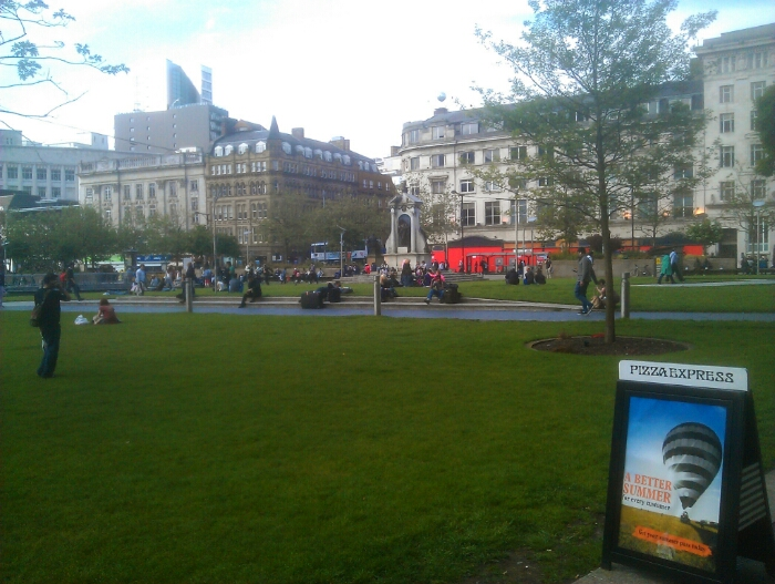 Piccadilly Garden's Manchester