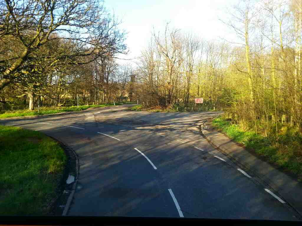 Heading north along Worsbrough Rd away from Worsbrough village