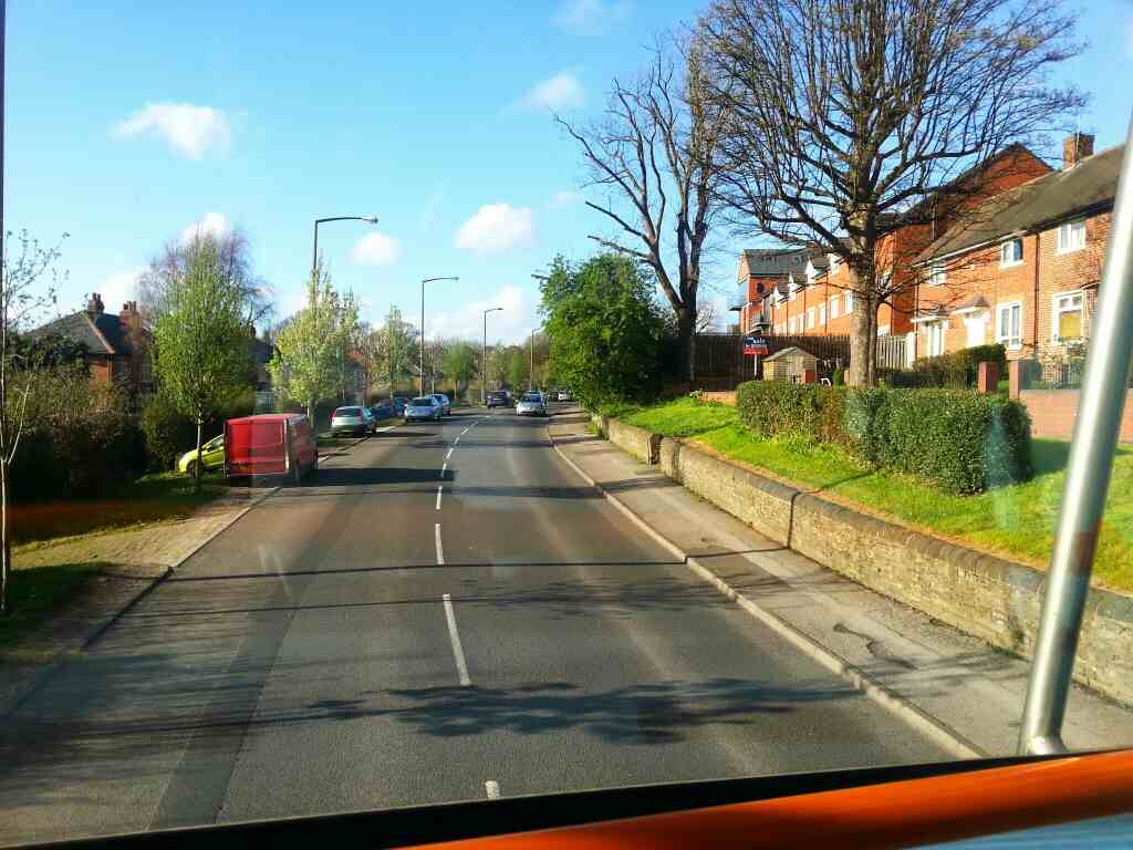 Barnsley Rd Sheffield South Yorkshire off a 265 bus