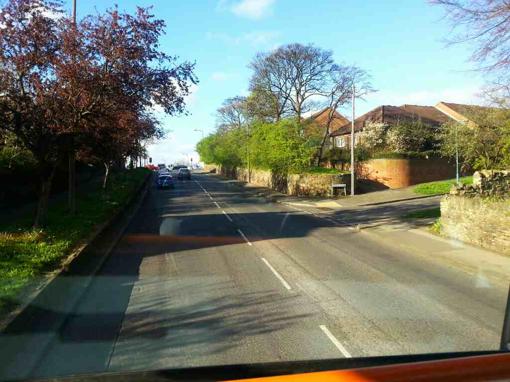 Junction of Bowfield Road and Barnsley Rd off a 265 bus