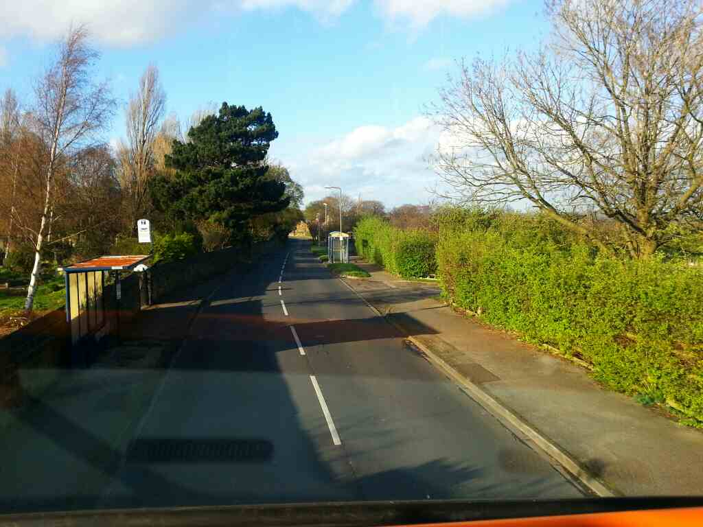 Heading away from Birdwell on Worsbrough Rd on a 265 bus