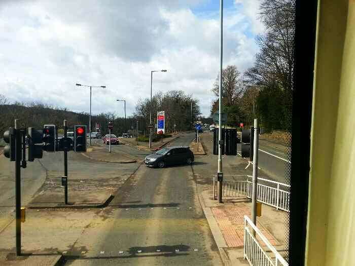 Passing Tesco at Millhouses Sheffield