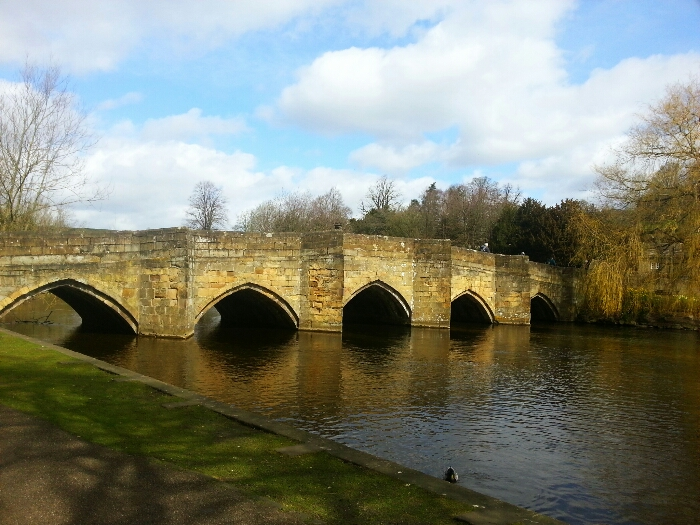 The bridge at Bakewell