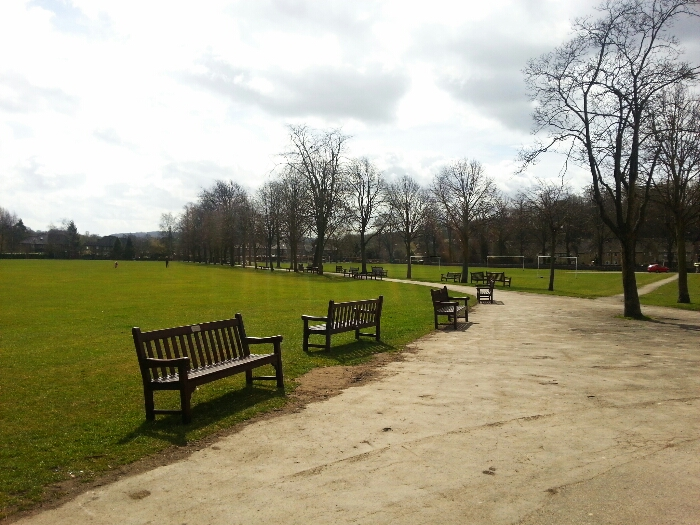 The park at Bakewell