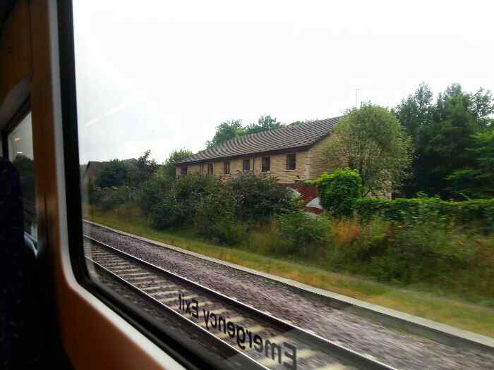Passing the site of the old Beauchief station