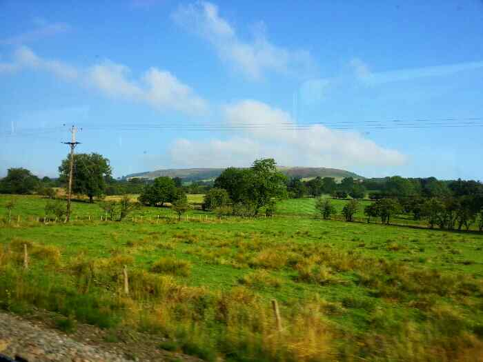 On a train between Bamford and Hope