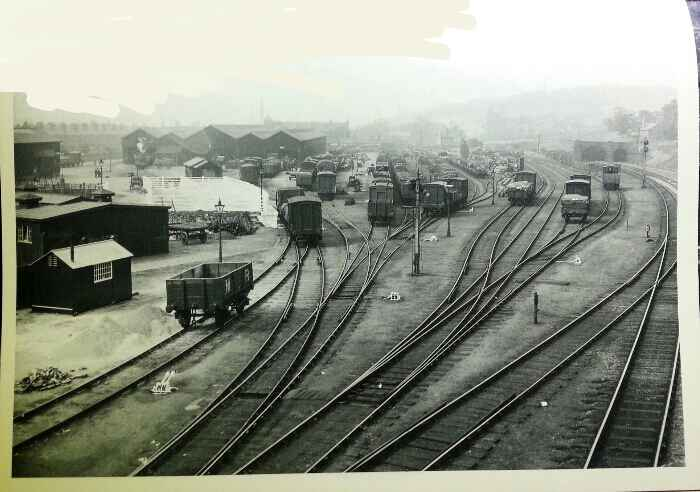 Midland Railway Goods Yard Queens Road Sheffield 1912, 2013 this is now sqr701 B&Q Sheffield Queens Rd