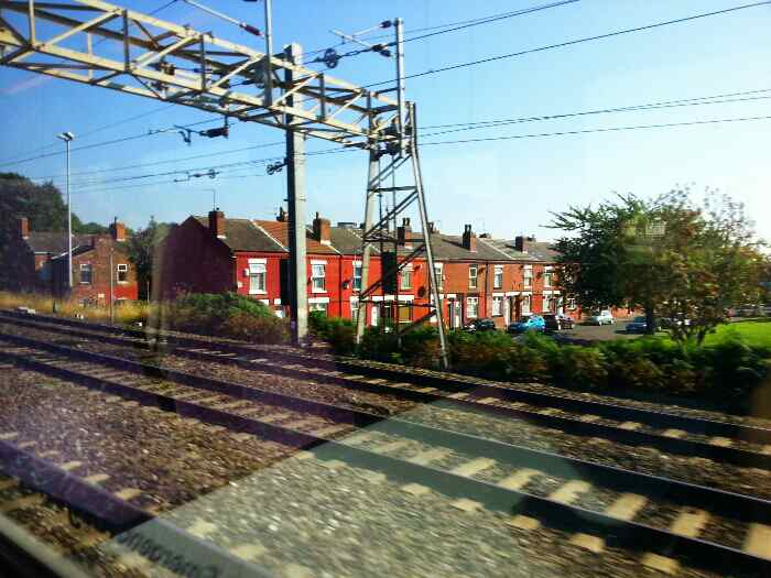 Passing Pennington St between Levenshulme and Longsight