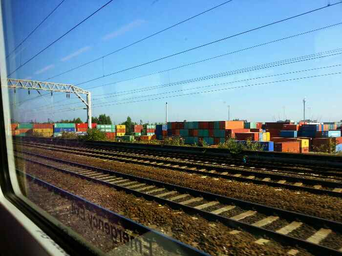 Container Depot near Manchester Piccadilly