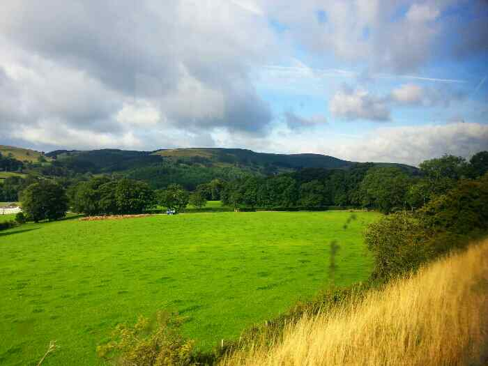 Heading away from Hathersage