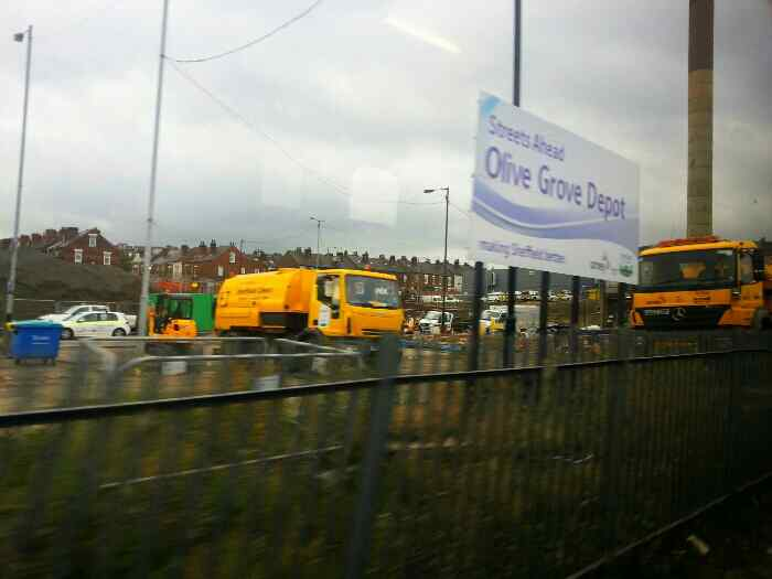 Olive Grove Gritting Depot Sheffield