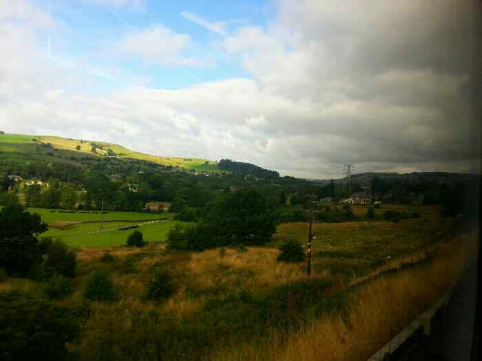 Between Chinley and New Mills