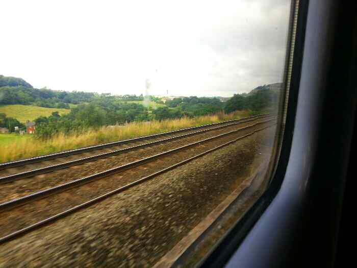 Leaving the main line to head into New Mills