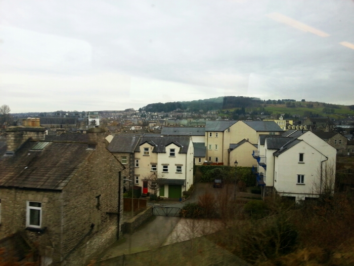 Looking over Kendal