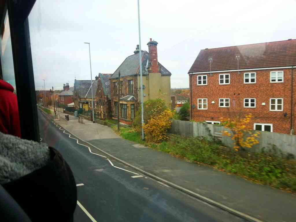 Passing through Robin Hood on a 110 bus