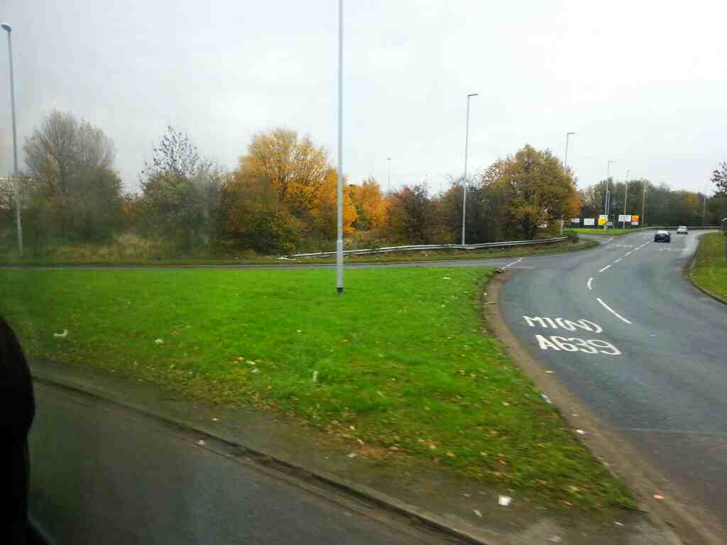 Wakefield Rd the A639 off a 110 bus