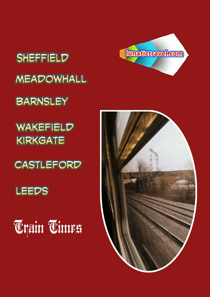 Download the West Yorkshire Metro Leeds Woodlesford Castleford Normanton Wakefield Kirkgate Darton Barnsley Meadowhall Sheffield timetable train  times