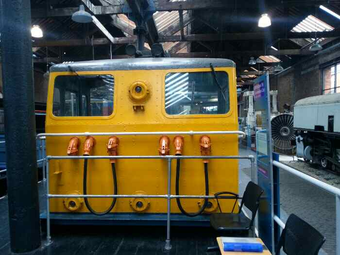 Class 76 locomotive cab Museum of Science and Industry Manchester